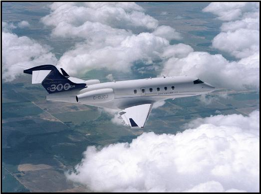 The all new Bombardier Challenger 300